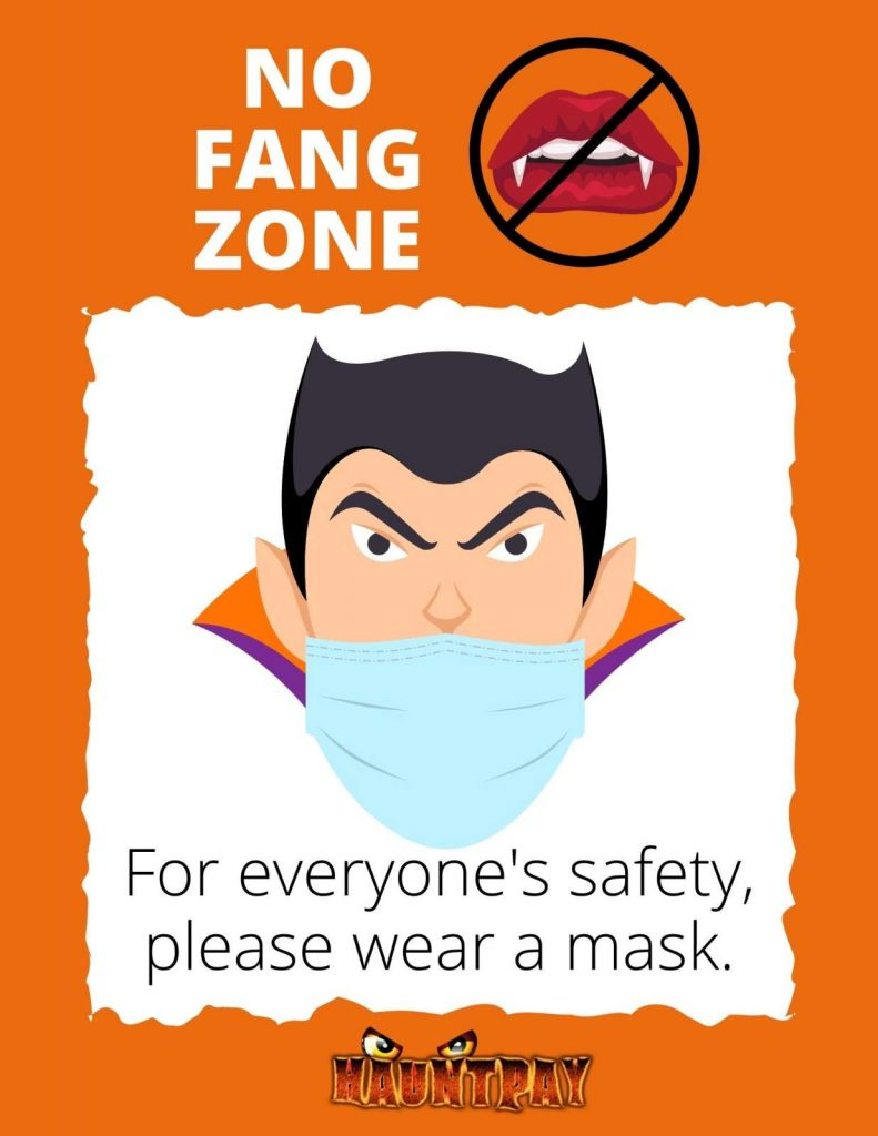 HauntPay Mask Poster